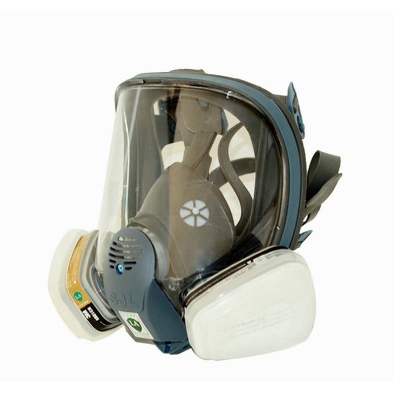 Satin Almak 6800 Gaz Maskesi Icin Sjl Tam Yuz Parcasi Solunum 7